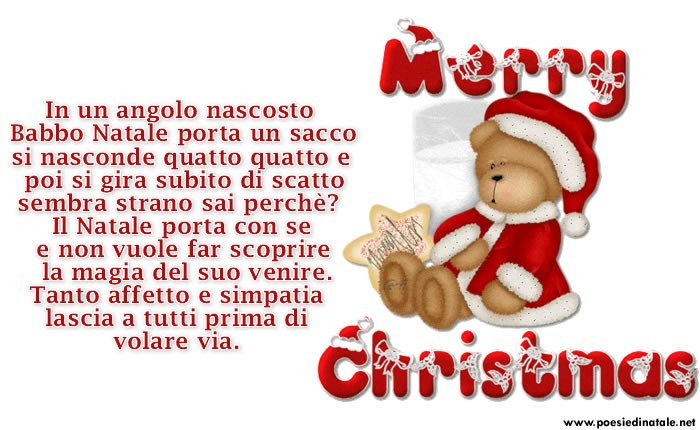 Top Bellissima immagine poesia Natale SD78