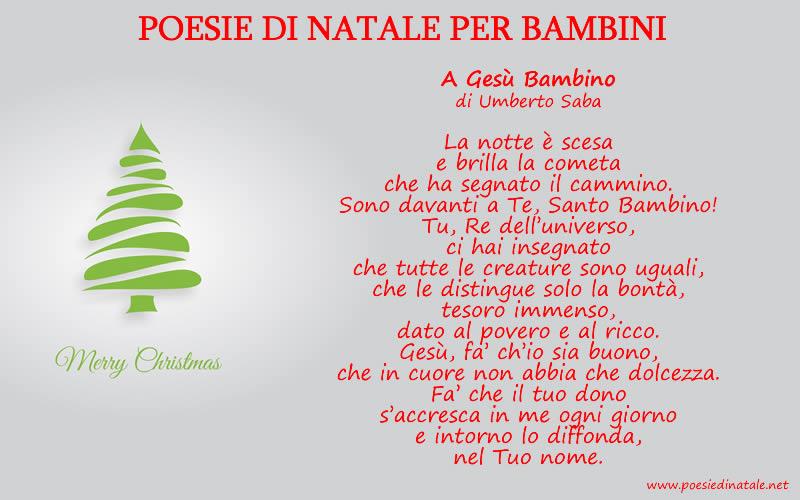 Amato Poesie di Natale: tante bellissime Poesie di Natale ND18